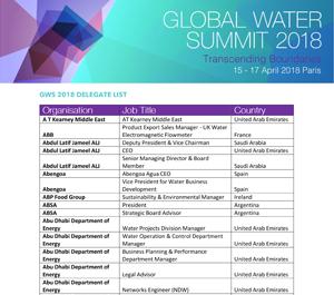 GWS 2018 Delegate List Pic